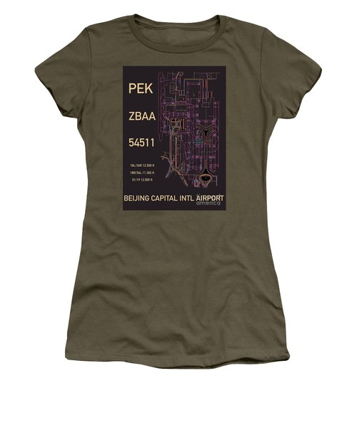 Pek Beijing Capital Airport Women's T-Shirt