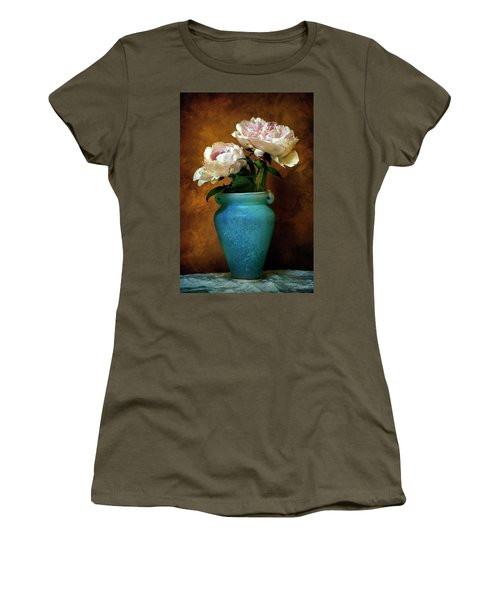 Peonies In Spring Women's T-Shirt