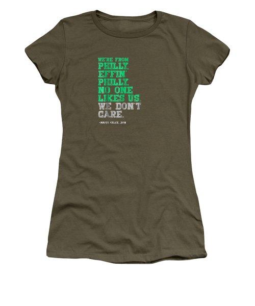 Philadelphia No One Likes Us We Don't Care T-shirt Women's T-Shirt