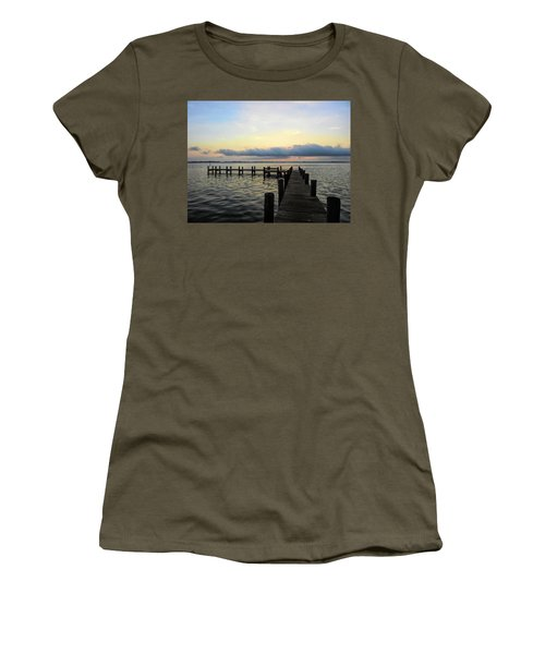 Pier Into Morning Women's T-Shirt