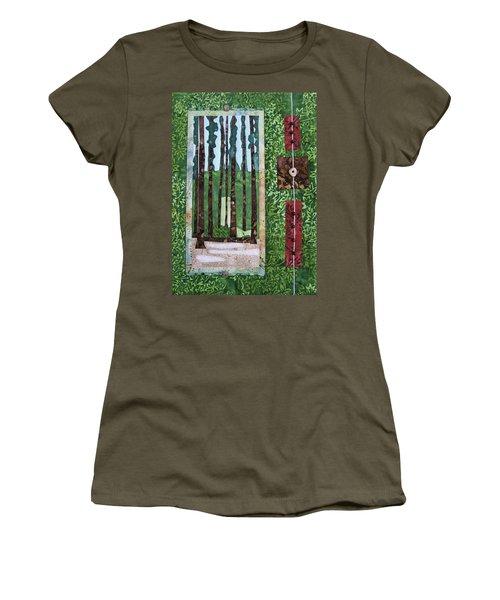 Pine Forest Tall Women's T-Shirt