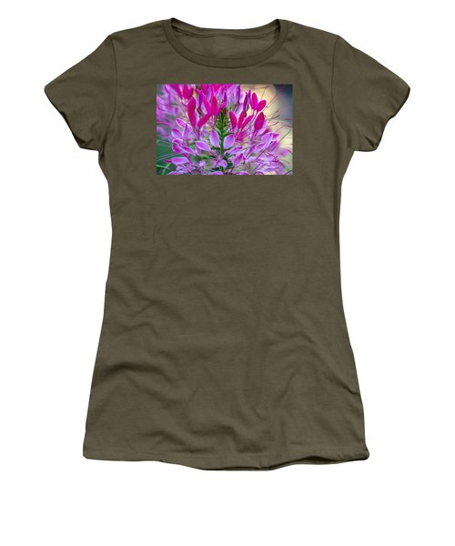 Pink Queen Flower Women's T-Shirt