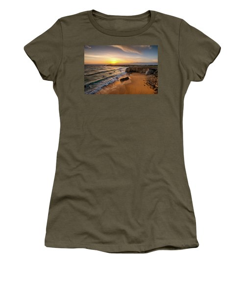 Pointe Du Percho And Port Blanc Women's T-Shirt