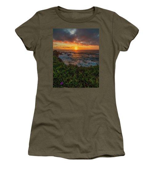 Pomo Bluffs Sunset - 2 Women's T-Shirt