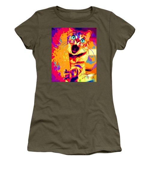 pOpCa PeekaBoots Women's T-Shirt