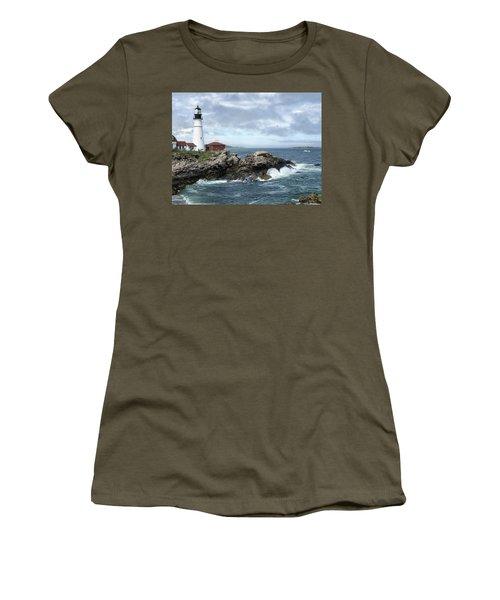 Portland Head Light House Women's T-Shirt