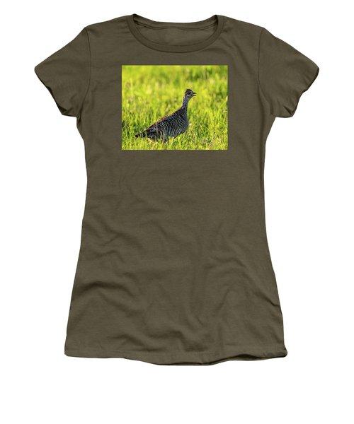 Prairie Chicken Hen Women's T-Shirt