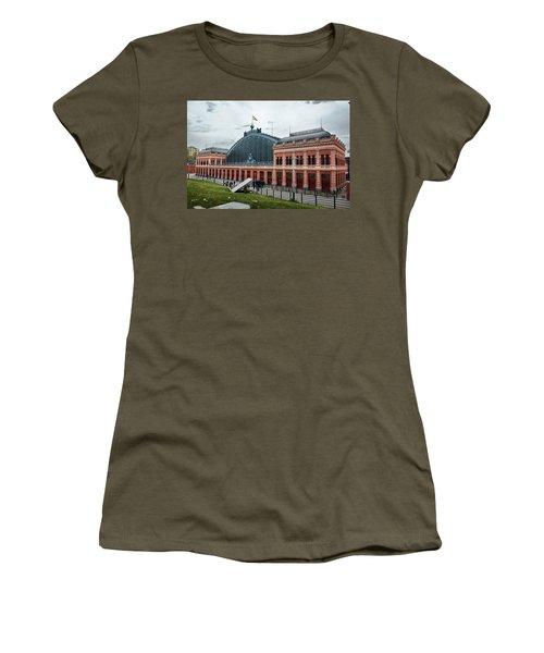 Puerta De Atocha Railway Station Women's T-Shirt
