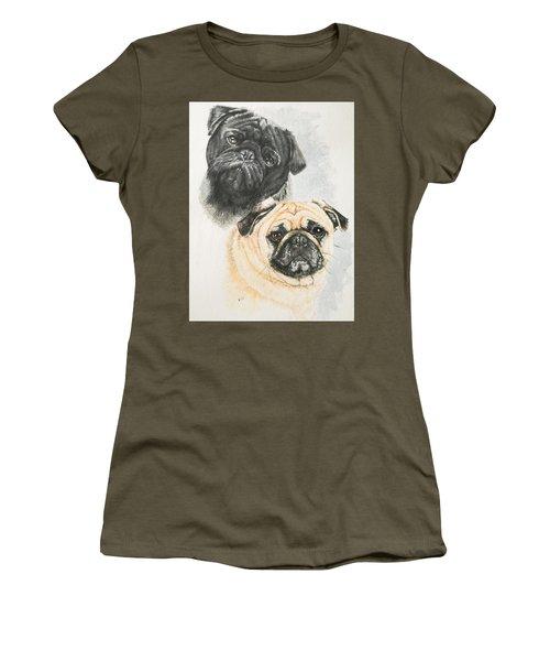 Pug Brothers Women's T-Shirt