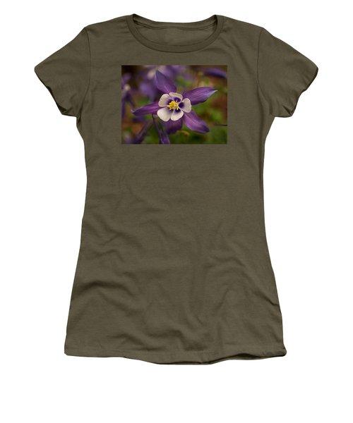 Purple Columbine Women's T-Shirt