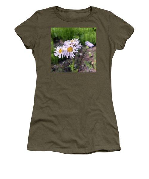 Purple Fleabane 5 Women's T-Shirt