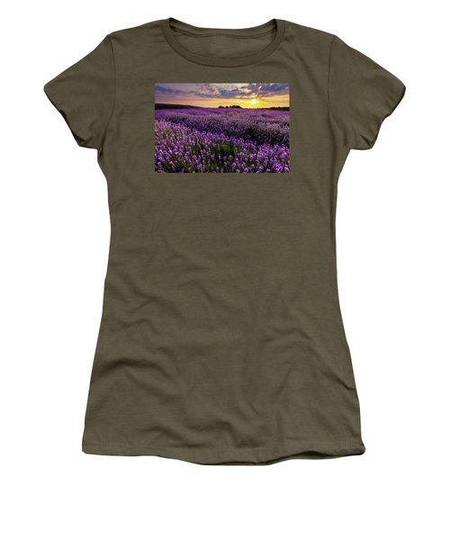 Purple Sea Women's T-Shirt