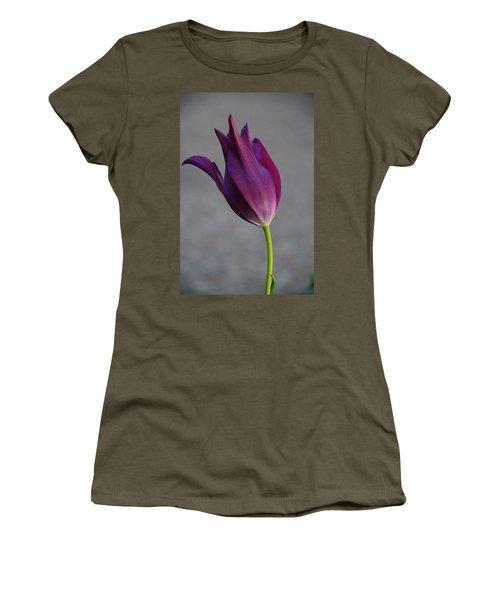 Purple Tulip Women's T-Shirt