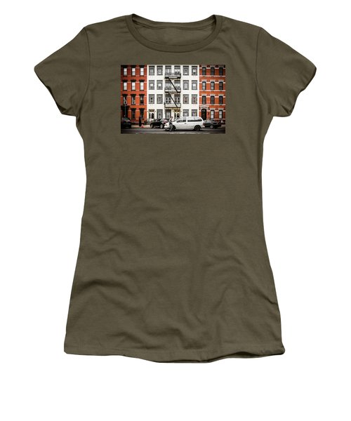 Women's T-Shirt featuring the photograph Quick Delivery by Steve Stanger