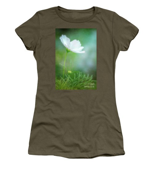 Radiant White Cosmos In The Evening Light Women's T-Shirt
