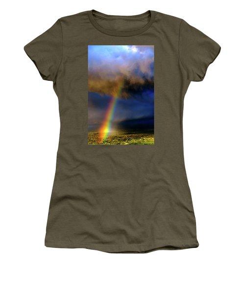 Rainbow During Sunset Women's T-Shirt