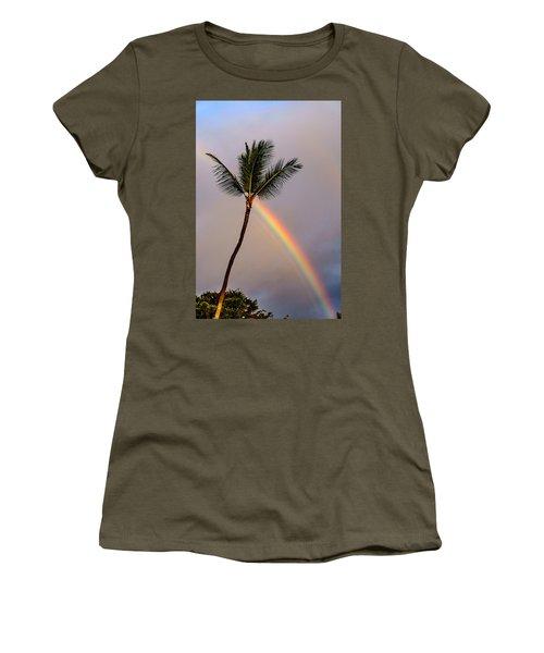 Rainbow Just Before Sunset Women's T-Shirt