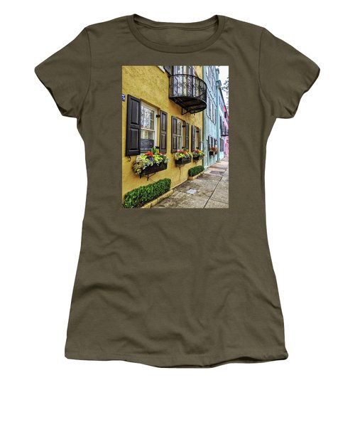 Rainbow Row Up Close Women's T-Shirt
