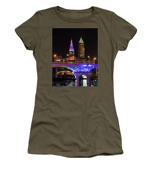 Rainbow Tower In Cleveland Women's T-Shirt