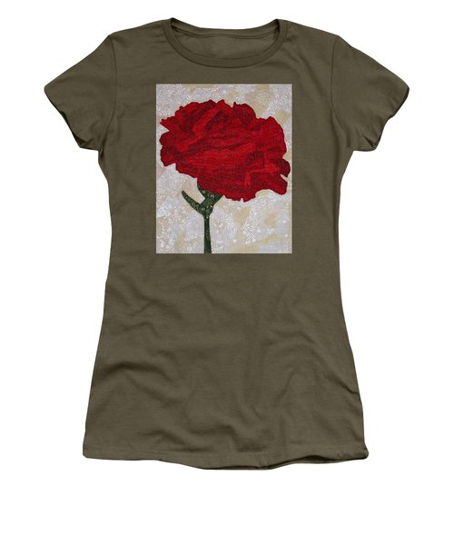 Red Carnation Women's T-Shirt