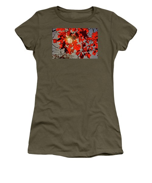 Red Leaves Women's T-Shirt