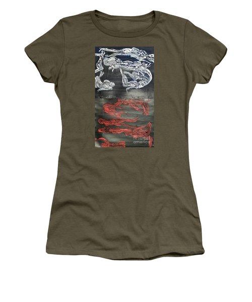 Red Strangles White Cells Women's T-Shirt