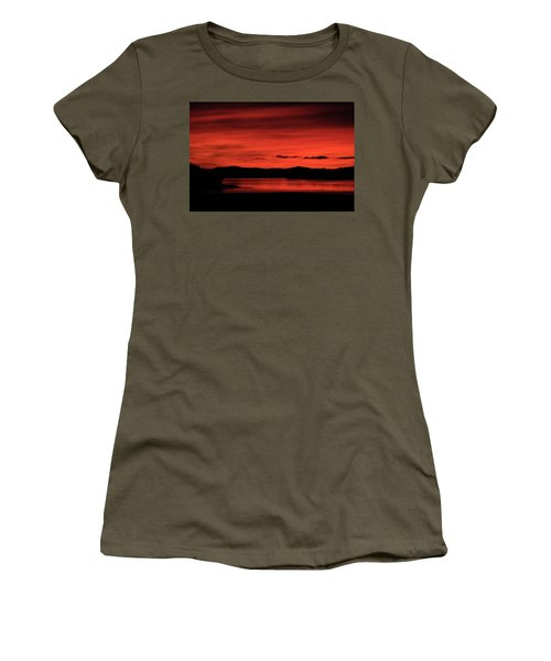 Red Sunset Women's T-Shirt