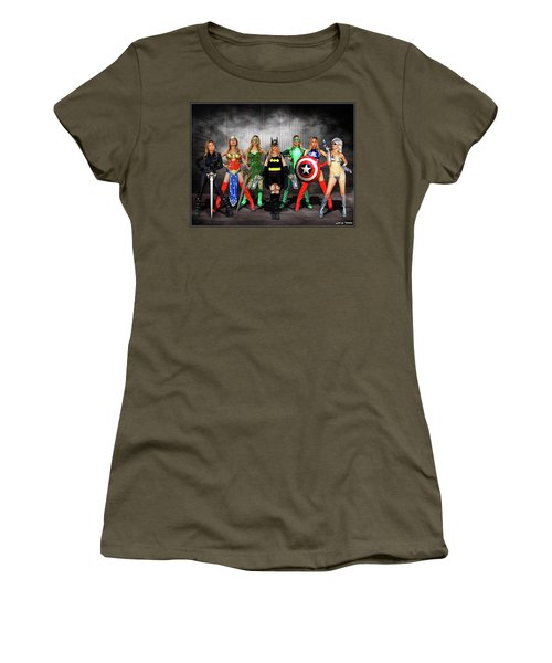 Reflections Of A Hero Women's T-Shirt