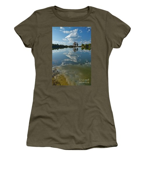 Reflections By The Lake Women's T-Shirt