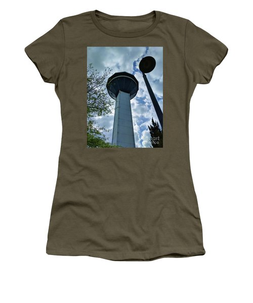Restaurant In The Clouds Women's T-Shirt