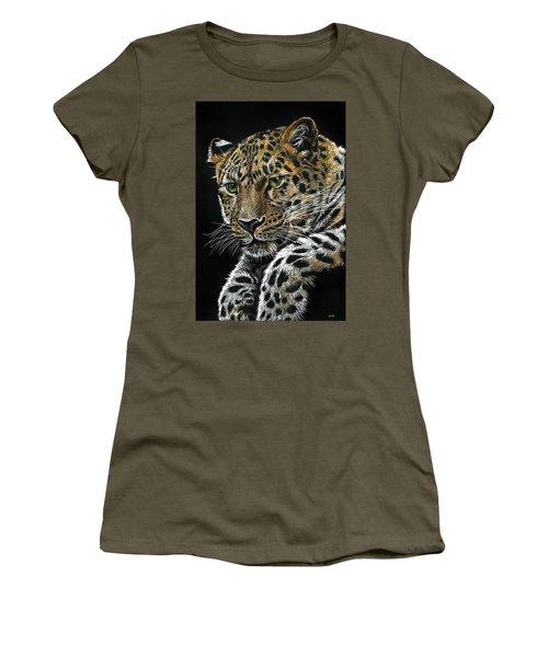 Resting Leopard Women's T-Shirt