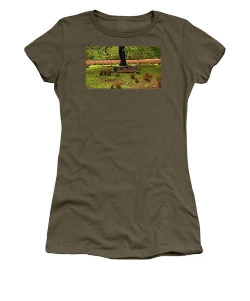 Rivington. Terraced Gardens. Feeding Trough. Women's T-Shirt
