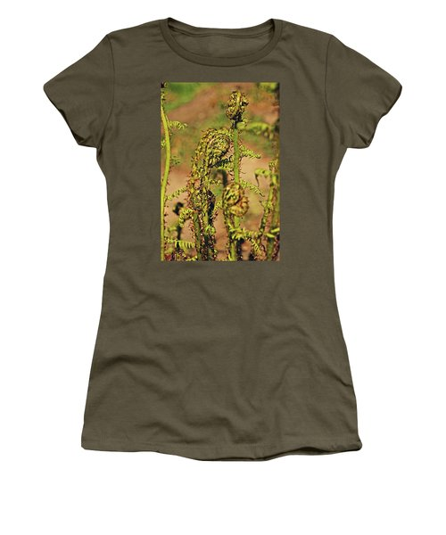 Rivington Terraced Gardens. Fern Frond. Women's T-Shirt