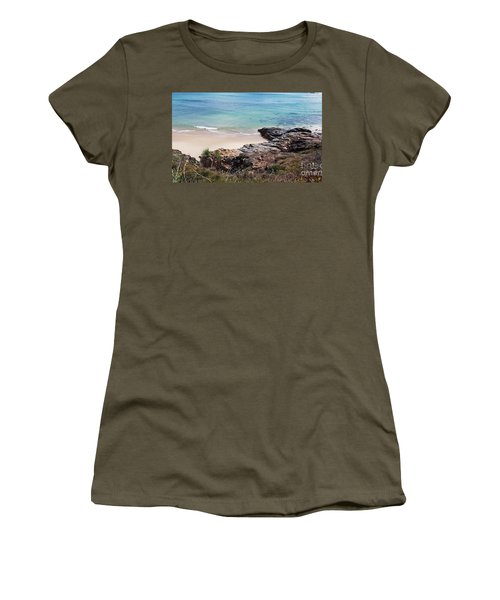 Rocks Sand And Water  Women's T-Shirt