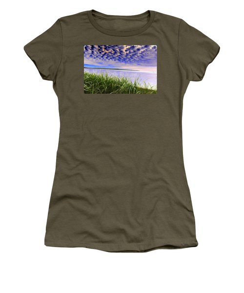 Rolling Blue Sky Over Lake Superior Women's T-Shirt