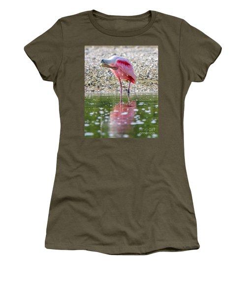 Roseate Spoonbil Women's T-Shirt