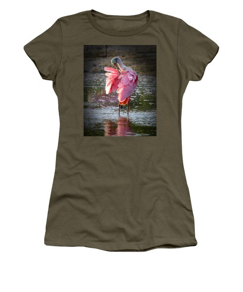 Roseate Spoonbill Women's T-Shirt