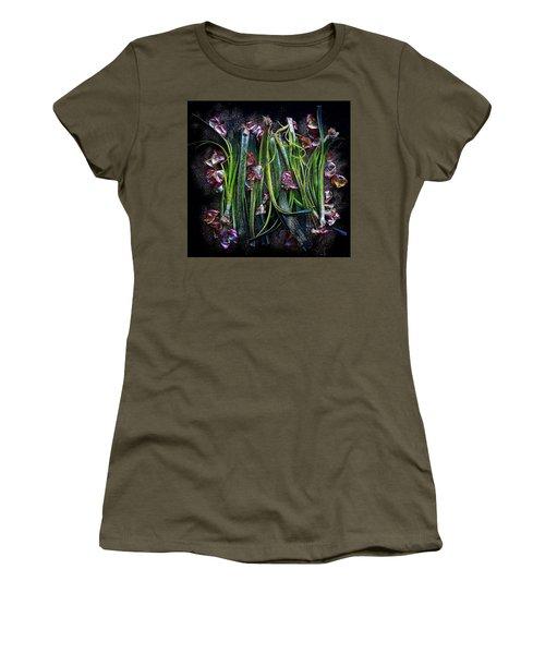 Rosy Leeks Women's T-Shirt