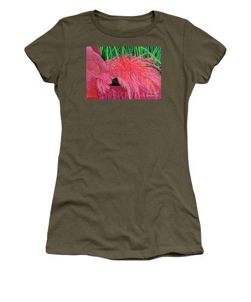 Ruffled Flamingo Women's T-Shirt