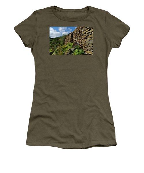 Ruins Of A Schist Cottage In Alentejo Women's T-Shirt
