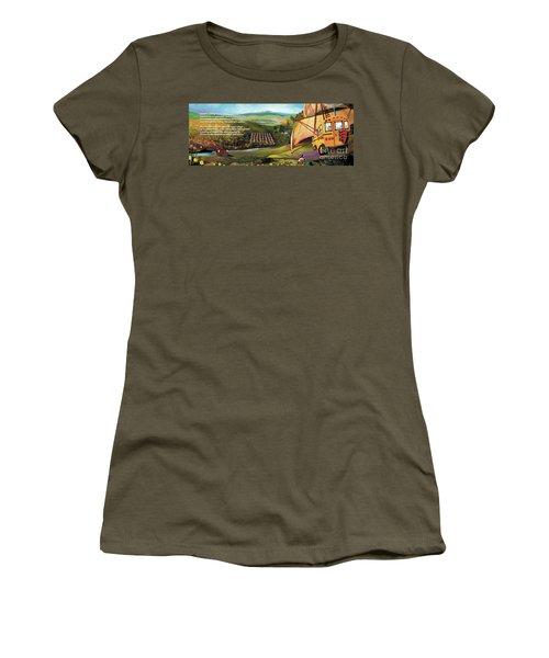 Sailbus Flight Home Women's T-Shirt