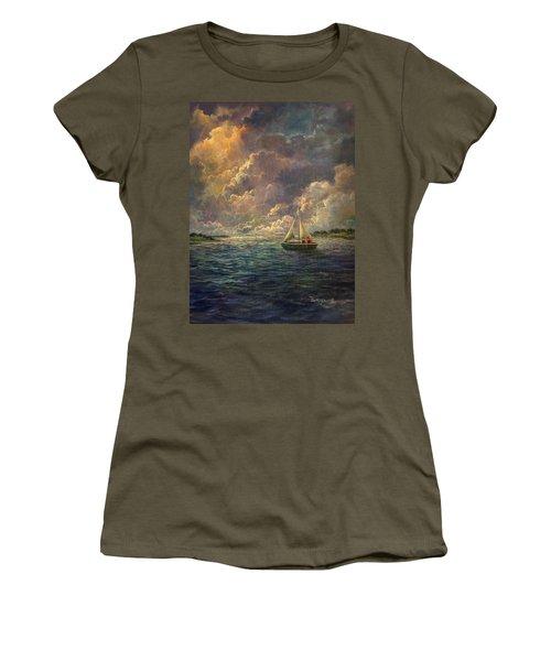 Sailing The Divine Light Women's T-Shirt