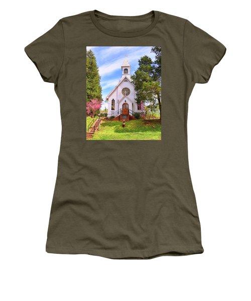 Saint Joseph Roman Catholic Church In Columbia Virginia Women's T-Shirt