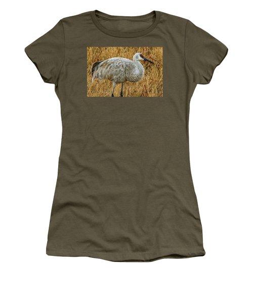 Sand Hill Crane Women's T-Shirt