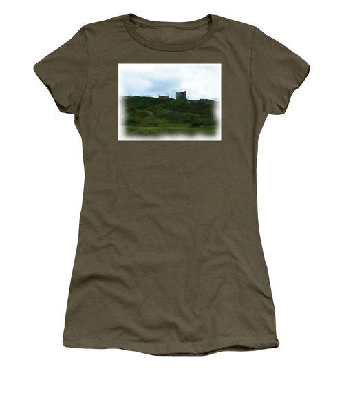 Scarborough Castle Painting Women's T-Shirt