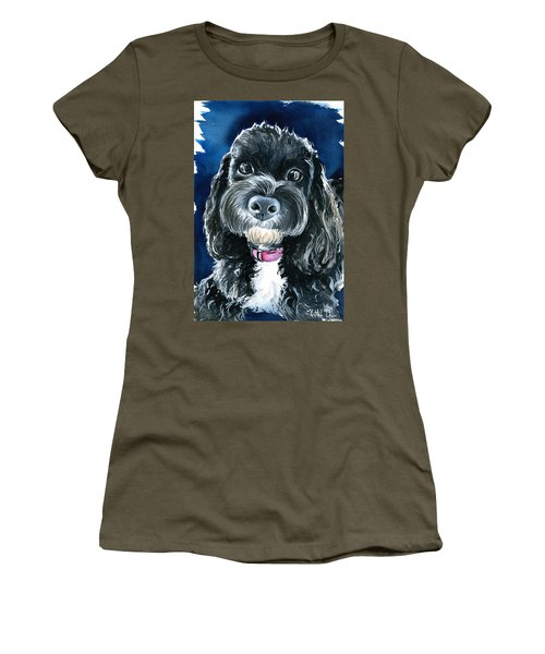 Scout - Cavoodle Dog Painting Women's T-Shirt