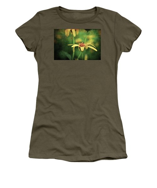 Women's T-Shirt featuring the photograph Scratched by Michelle Wermuth