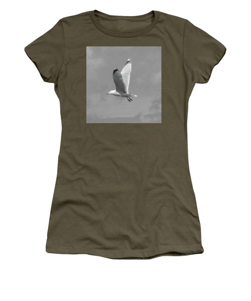 Seagull Over Llandudno Women's T-Shirt