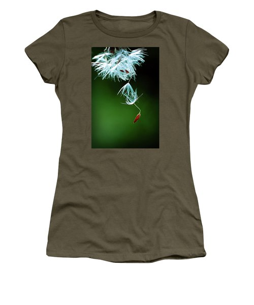 Women's T-Shirt featuring the photograph Seeking by Michelle Wermuth