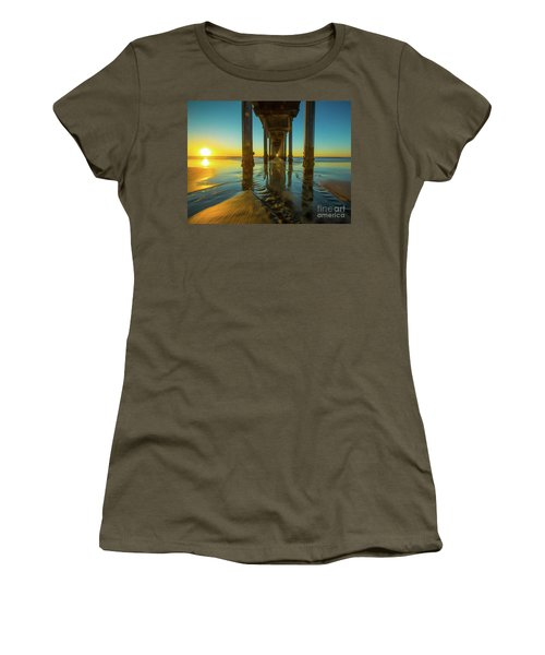 Serenity In San Diego Sunset 2 Women's T-Shirt